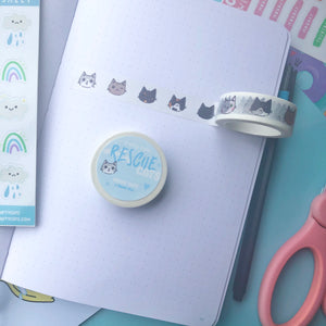 Rescue Cats Washi Tape