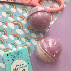Lavender Champagne Mini Bath Bombs