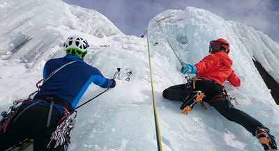 The Big Freeze: What to expect on your first ice climbing experience