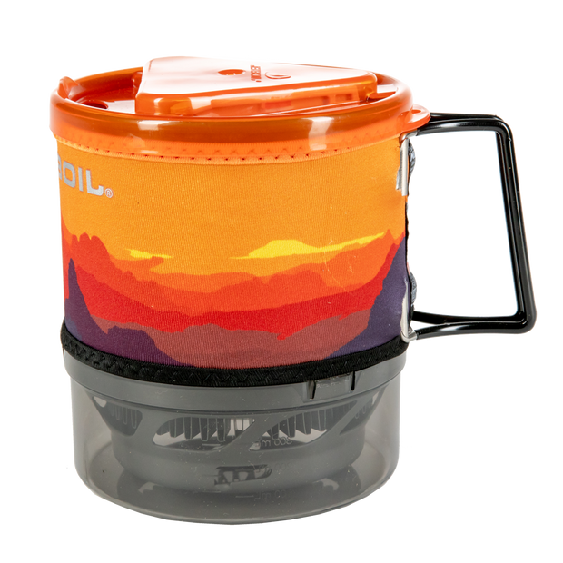 Jetboil MiniMo Camping Stove Cooking System - Sunset