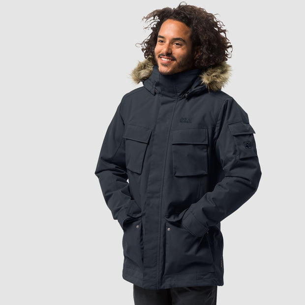 Jack Wolfskin Men's Glacier Canyon Waterproof Parka