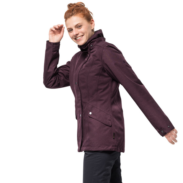 Jack Wolfskin Women's Park Avenue Insulated Winter Jacket