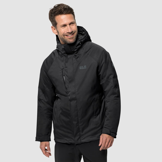 Jack Wolfskin Men's Troposphere Waterproof Down Jacket