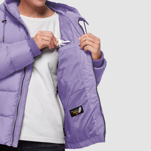 Jack Wolfskin Women's Crystal Palace Down Jacket