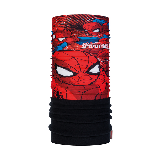 Buff Superheroes Spiderman Approach Junior Polar Neckwarmer - One Size