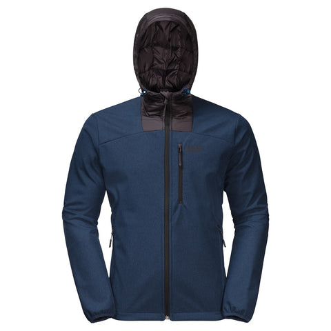 Jack Wolfskin Men's Sky Point Windproof Softshell Hoody