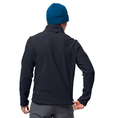 Jack Wolfskin Men's Skywind Fleece Jacket - Night Blue