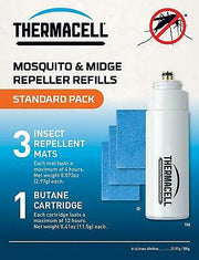 Thermacell Standard Mosquito Repellent Refill Pack (Mats & Gas)