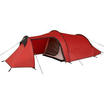 Wild Country Blizzard 3 Lightweight Waterproof Tunnel Tent Red