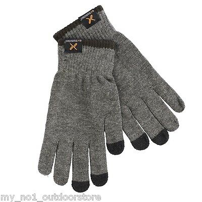 Extremities Primaloft Touch Glove - Charcoal Grey One Size