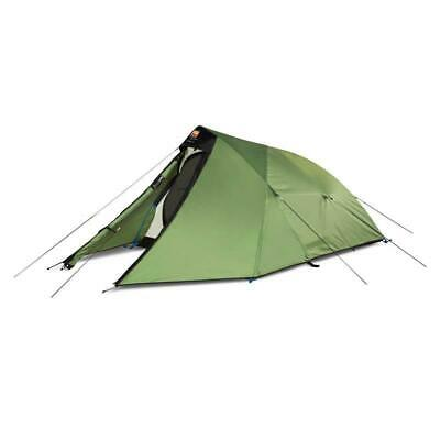 Wild Country Trisar 3 Person Strong Waterproof Semi-Geodesic Tent - Green