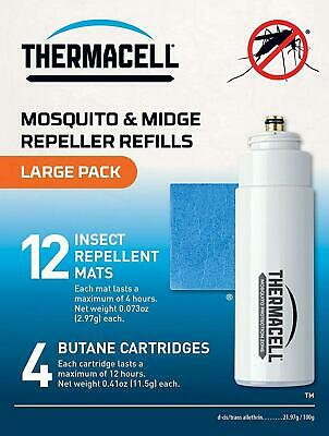 Thermacell Mosquito Repellent Large Refill Pack (Mats & Gas)