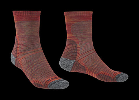 Bridgedale Men's Hike Lightweight T2 Crew Merino Performance Socks