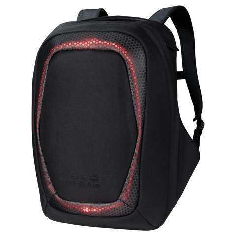 Jack Wolfskin Neuron LED Laptop Backpack - Black