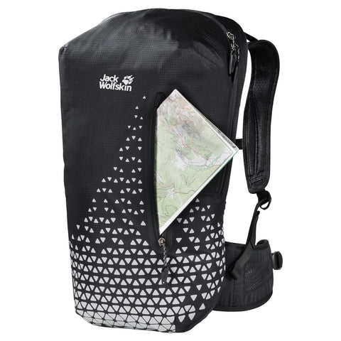 Jack Wolfskin Nighthawk 22 Backpack - Reflective Grid