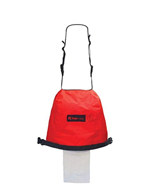 Trekmates Camping Toilet Roll Dry Bag - Red