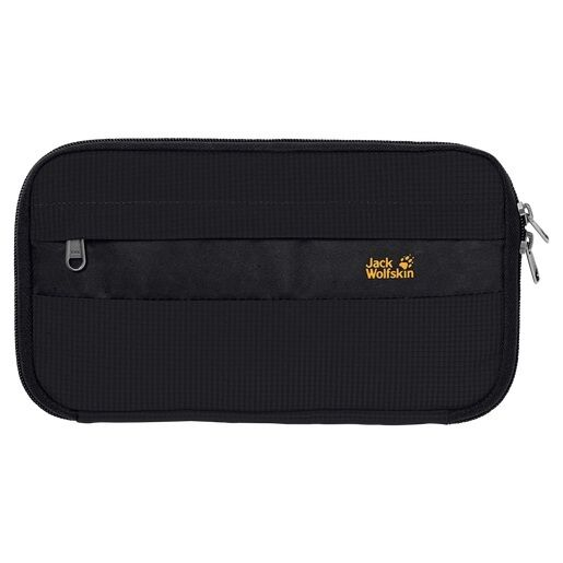 Jack Wolfskin Men's Boarding Pouch RFID Blocking - Black