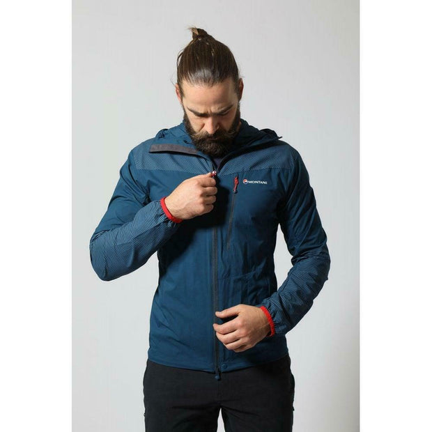 Montane Men's Lite-Speed Hooded Windproof Breathable Jacket