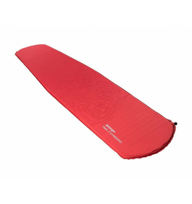 Vango New Trek 3 Standard Sleeping Camping Mat - Rocket Red