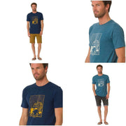 Animal Men's Woody Tee Crew Neck Short-Sleeved Blended Cotton T-Shirt