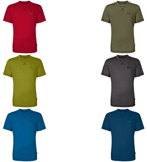 Jack Wolfskin Men's Crosstrail Moisture Regulating Functional T-Shirt