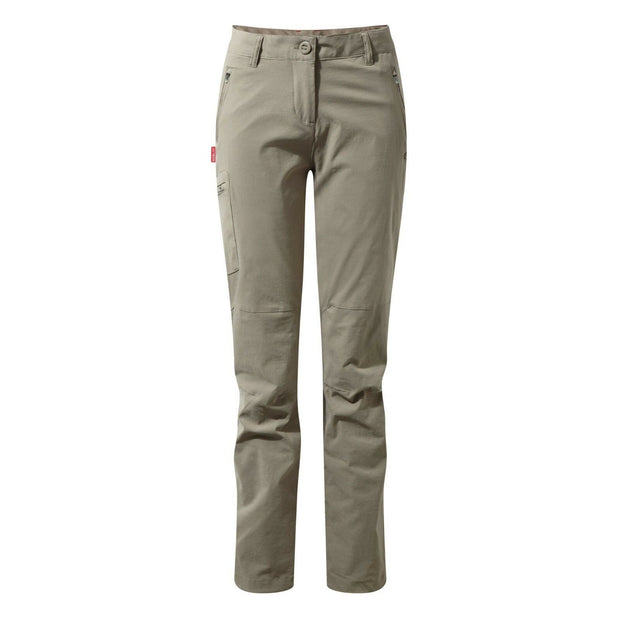 Craghoppers Women's Nosilife Pro Walking Trousers (Reg Leg) - Mushroom
