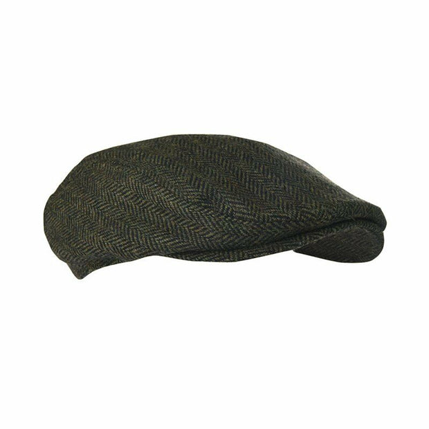 Extremities Men's Parapet Waterproof Flat Cap - Khaki One Size