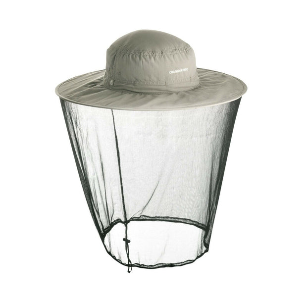 Craghoppers NosiLife Ultimate Travel Hat (With Mosquito Net) - Parchment