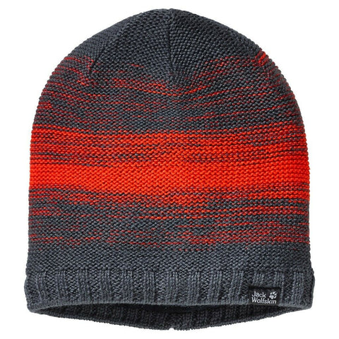 Jack Wolfskin Color Float Knit Beanie Cap - Ebony