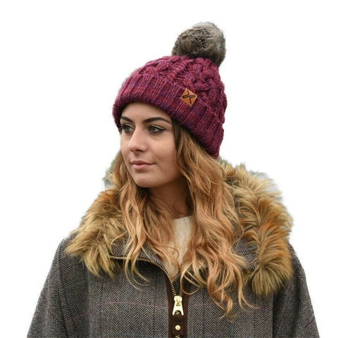 Extremities Women's Donegal Fleece Lined Beanie