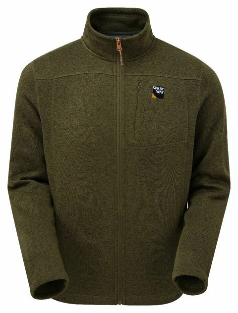Sprayway Men's Minos Full Zip 200 Weight Fleece Jacket