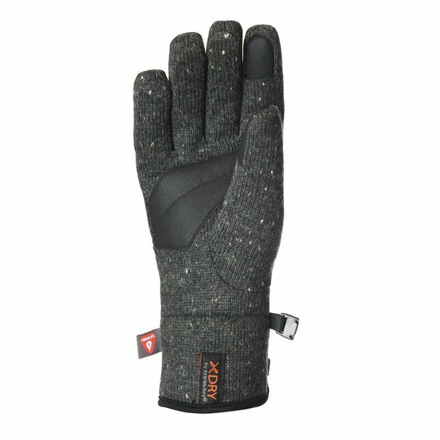 Extremities Furnace Wool Mix Insulated Waterproof Gloves - Dark Grey Marl