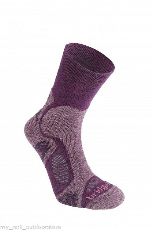 Bridgedale Women's Coolfusion Trailblaze Sock - Plum Purple
