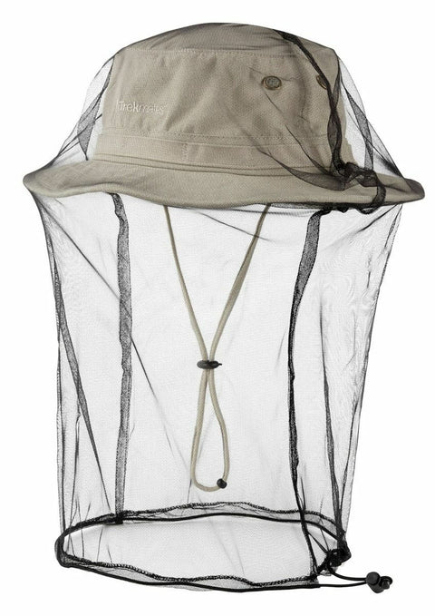 Trekmates Jungle Hat With Mosquito Net - Stone