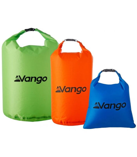 Vango Waterproof Dry Bag Set of 3