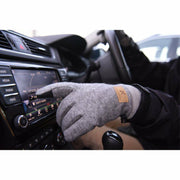 Extremities Igneous Wool Mix Waterproof Gloves - Grey Marl