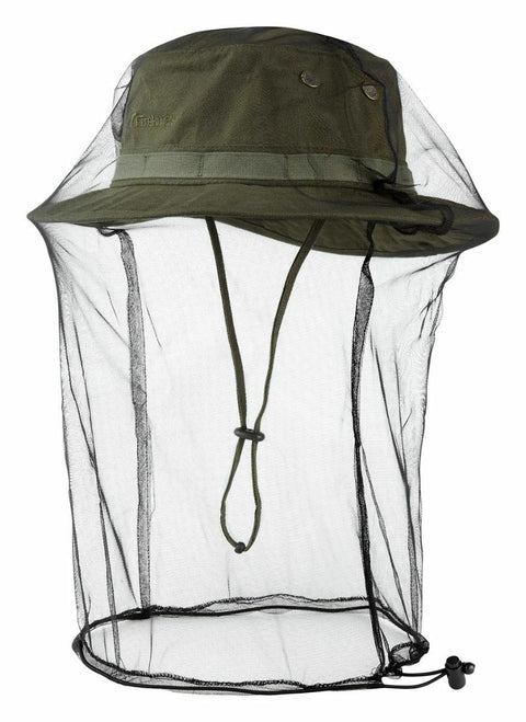Trekmates Jungle Hat With Mosquito Net - Olive
