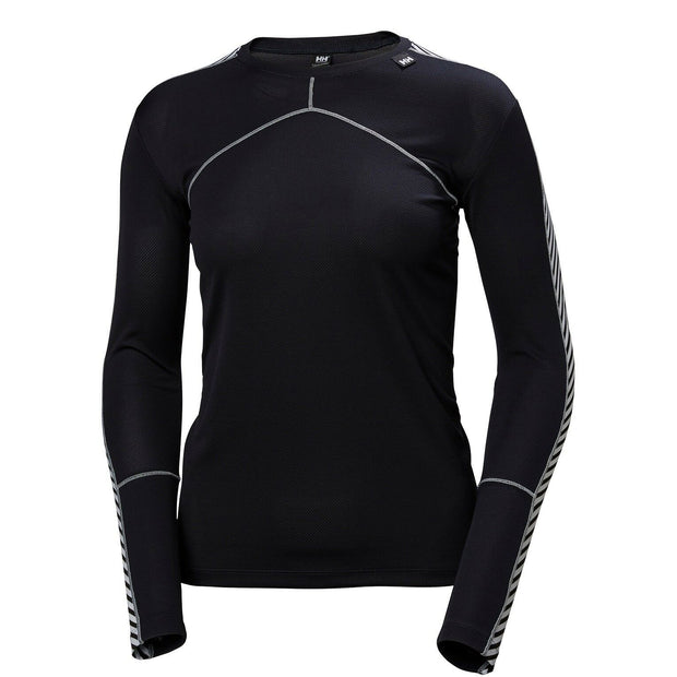 Helly Hansen Women's Lifa Crew L/S Top - Graphite Blue