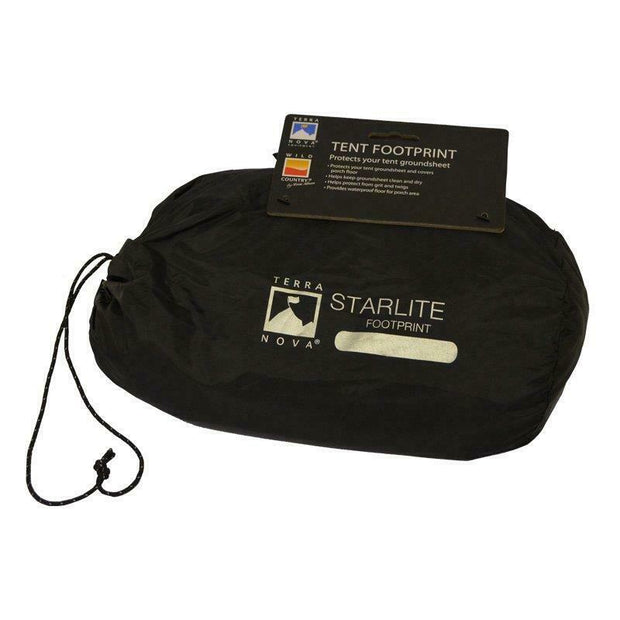 Terra Nova Starlite 2 Waterproof Tent Footprint Black