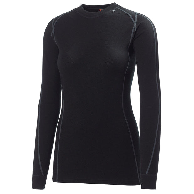 Helly Hansen Women's Warm Ice Crew Thermal Top - Black