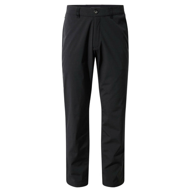 Craghoppers Men's Lairg Softshell Waterproof Walking Trousers (Reg Leg) - Black