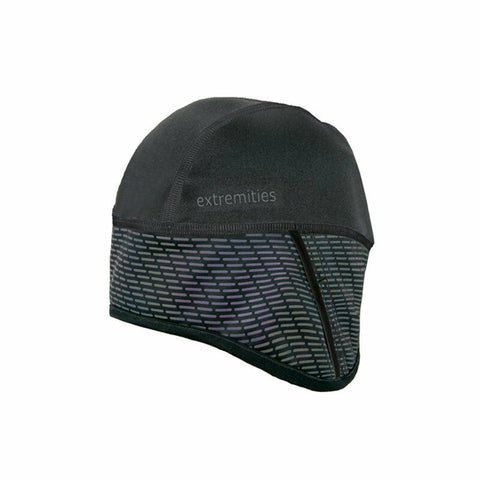 Extremities Maze Runner Took Windproof Reflective Running Beanie Hat - Black One
