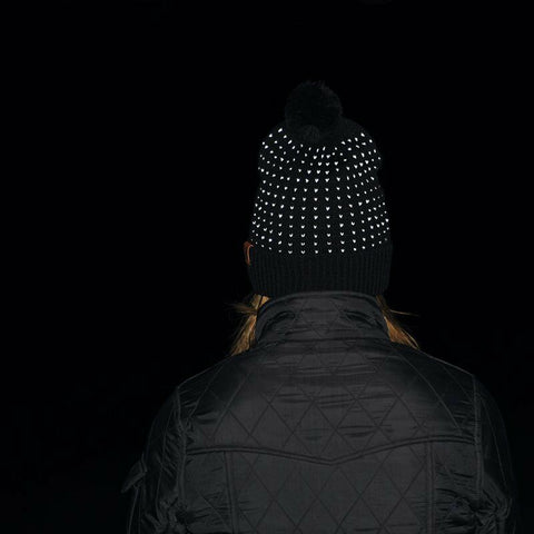 Extremities Sirius Glow in the Dark Bobble Beanie - Black