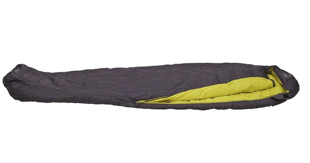 Terra Nova Elite 250 Lightweight Down Sleeping Bag - Charcoal/Lime