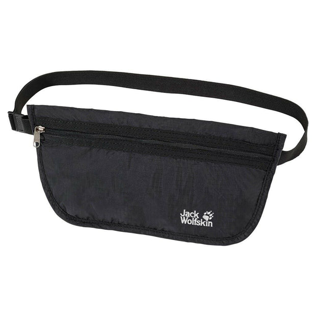 Jack Wolfskin Document Travel Belt Bag - Black