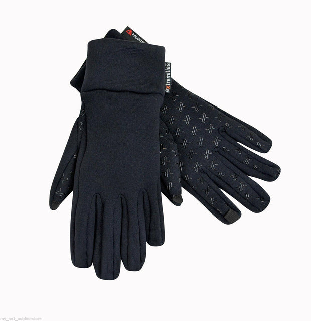 Extremities Sticky Power Stretch Thermal Gloves - Black