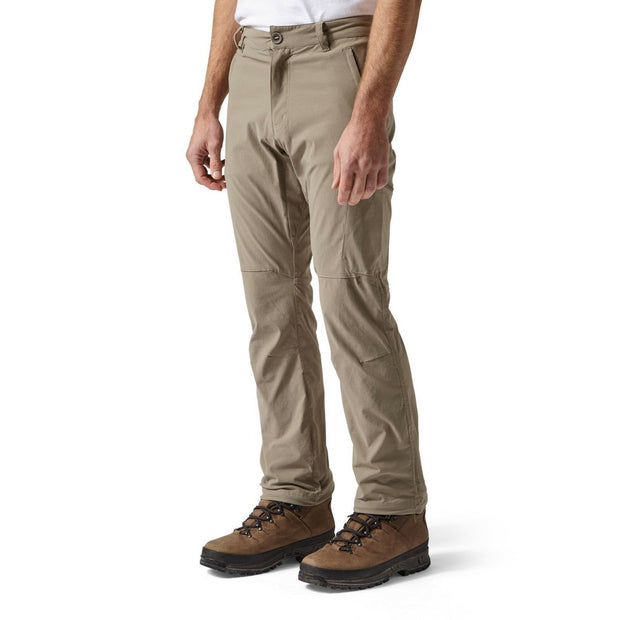 Craghoppers Men's NosiLife Pro Walking Trousers (Reg Leg) - Pebble
