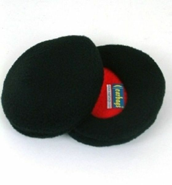 Earbags Fleece Ear Warmers - Black, Grey, Navy, Red, Pink