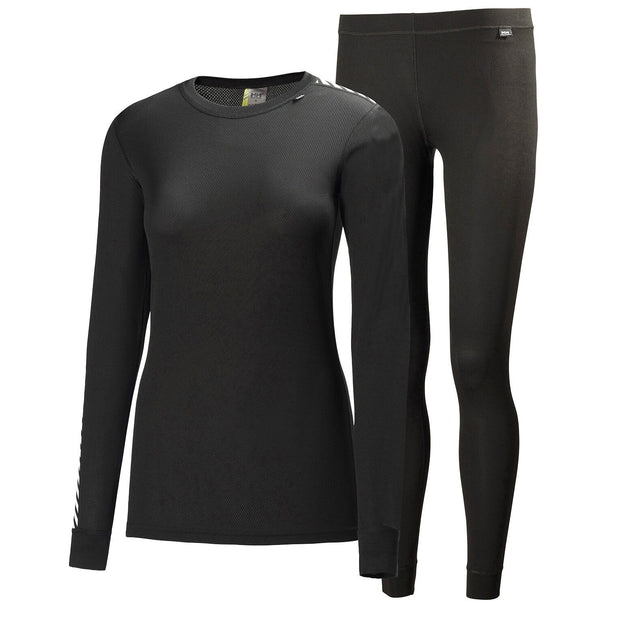 Helly Hansen Women's Comfort Dry Thermal 2 piece Pack - Black