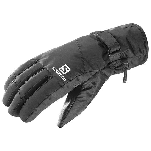 Salomon Men's Force Dry Ski Boarding Gloves - Black